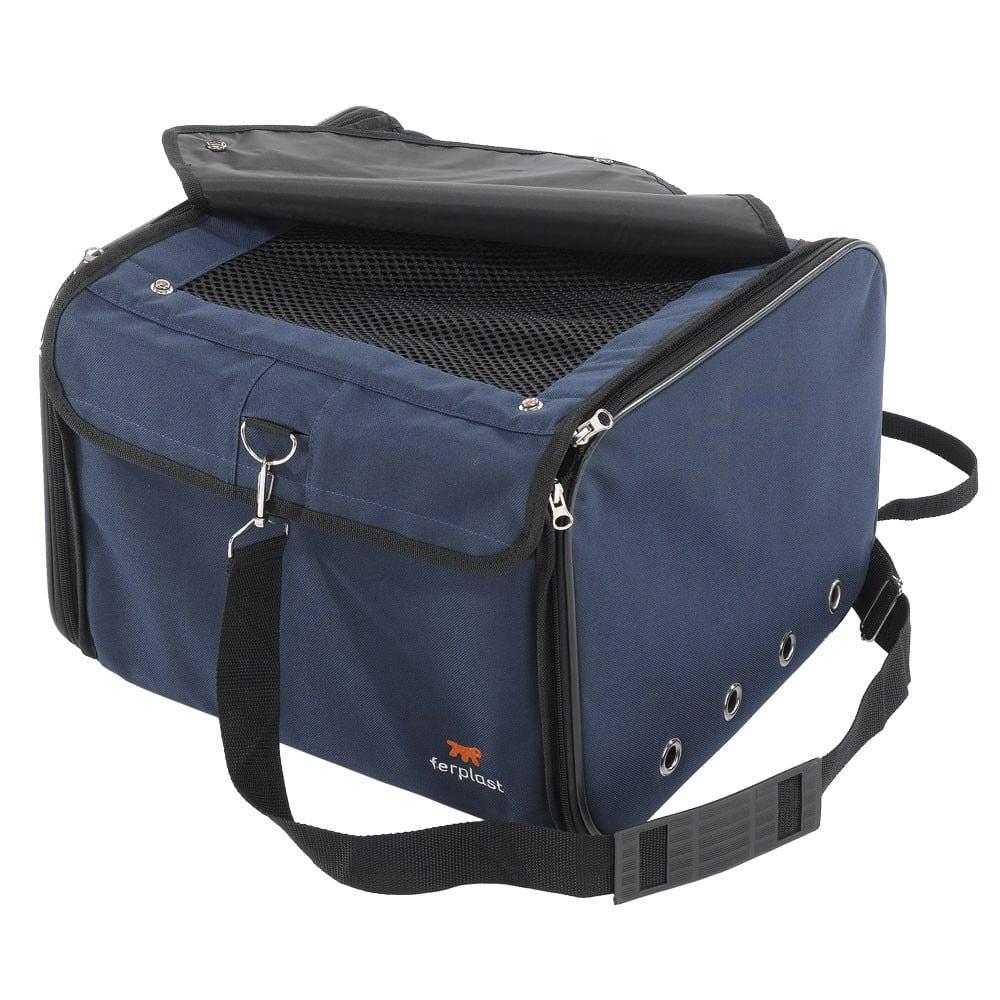 f33f60fc274c Τσάντα Μεταφοράς Σκύλου και Γάτας Ferplast Arca με Λουρί ώμου Μπλε ...