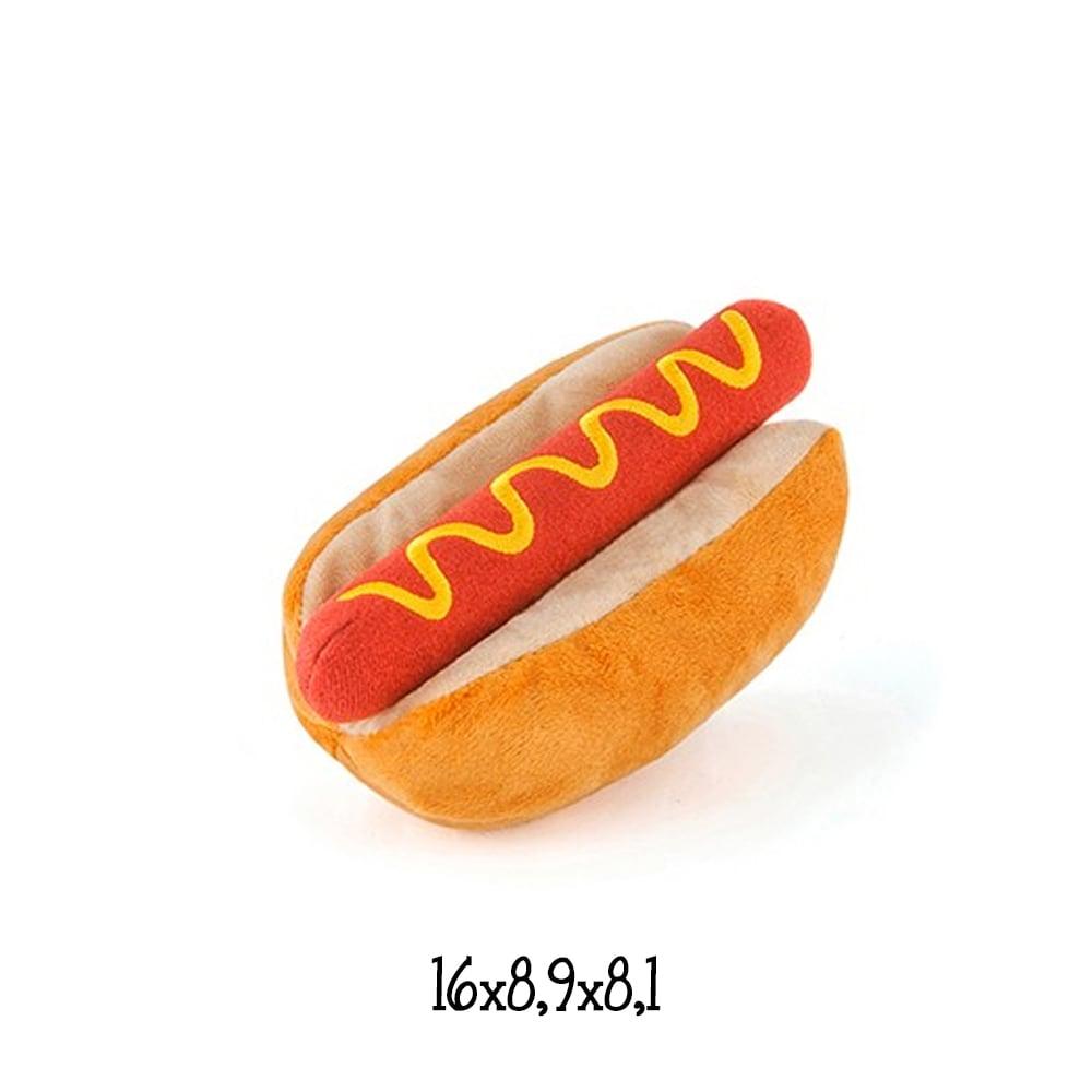 a99b1c4fe224 Παιχνίδι για Μεγαλόσωμους Σκύλους Ανθεκτικό P.L.A.Y Hot Dog 16×8