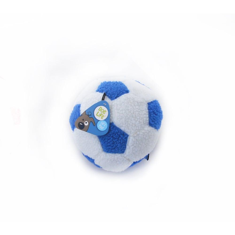 f55c514d3546 Παιχνίδι Σκύλου Λούτρινη Μεγάλη Μπάλα Ποδοσφαίρου DogLife Football ...