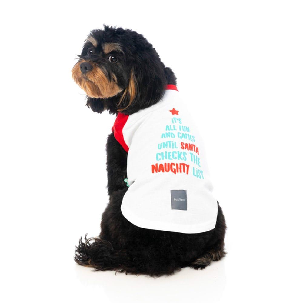 502d9ba6f1ea Mπλουζάκι για Σκύλους FuzzYard T-shirt Naughty List Extra Extra ...